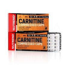 CARNITINE COMPRESSED CAPS 120 kapslí