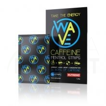 WAVE CAFFEINE MENTOL STRIPS 10x1400 mg